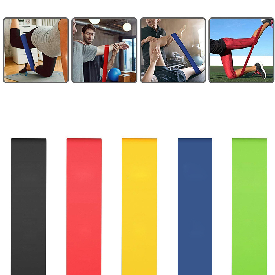 Fitness Latex Resistance Bands